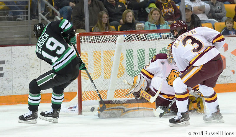 RUSS HONS: Photo Gallery — University Of North Dakota Vs. University Of Minnesota-Duluth