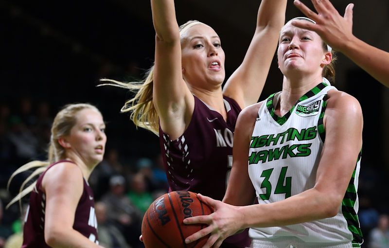 RUSS HONS: Photo Gallery — University Of North Dakota Vs. University of Montana