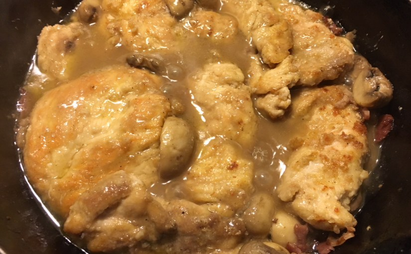 CHEF JEFF: One Byte At A Time — Chicken Marsala