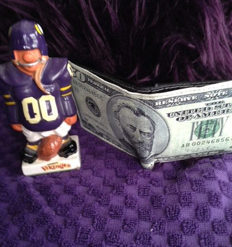 TOM COYNE: Back In Circulation — What's In Your Wallet, Viking Fans?