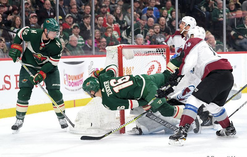 RUSS HONS: Photo Gallery — Minnesota Wild Vs. Colorado Avalanche