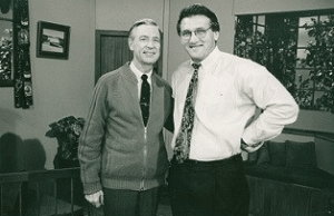 Fred Rogers and Tim Madigan.