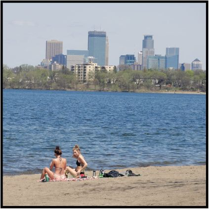 May 6: Walked around Lake Bde Maka Ska (the former Lake Calhoun) in Minneapolis today. I'm finally convinced spring is here.