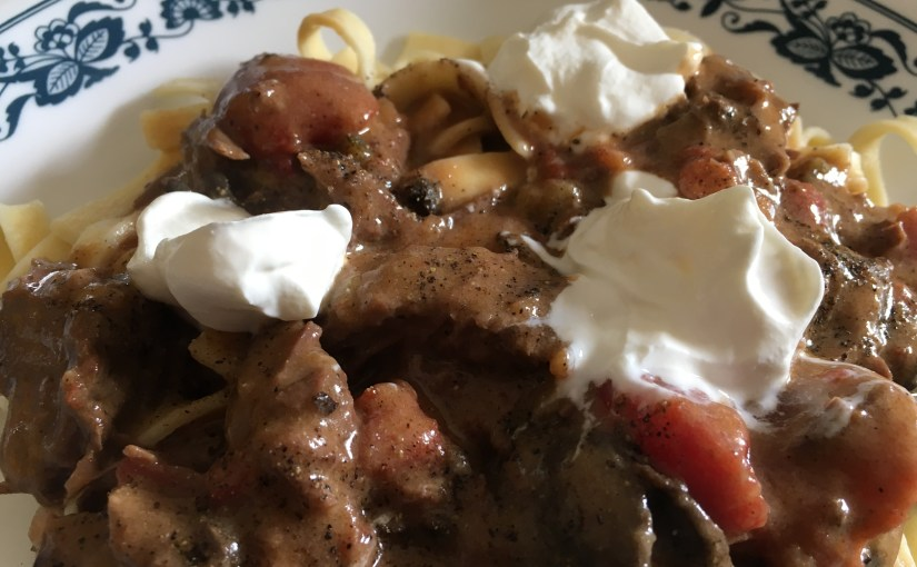 CHEF JEFF: One Byte At A Time — Slow Cooker Roast Stroganoff
