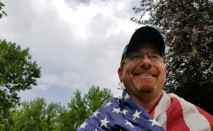 MARTIN C. FREDRICKS IV: Four The Record — I Am A Patriotic American