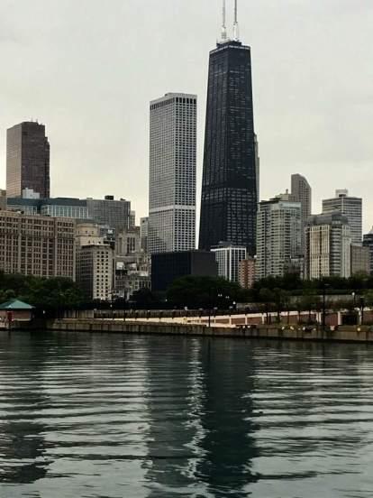 Chicago's John Hancock Center.