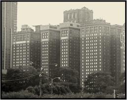 The Chicago Hilton on Michigan Avenue.