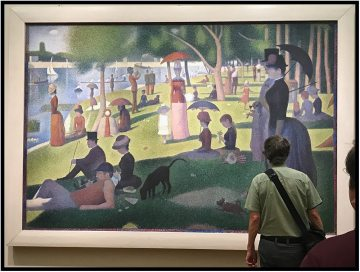 "Georges Seurat's ""A Sunday Afternoon on the Island of La Grande Jatte,"" which is on loan to the Art Institute of Chicago."