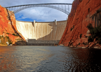 Glen Canyon Dam — The controversial dam that helped inspire the modern Conservation Movement.