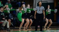 January 13, 2019: a NCAA basketball game between the Western Illinois Fighting Leathernecks and the University of North Dakota Fighting Hawks at Betty Engelstad Sioux Center in Grand Forks, ND. Photo by Russell Hons