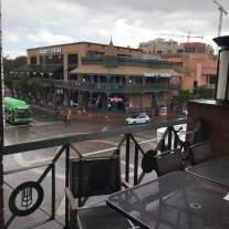 A rainy day in Tempe, Ariz.