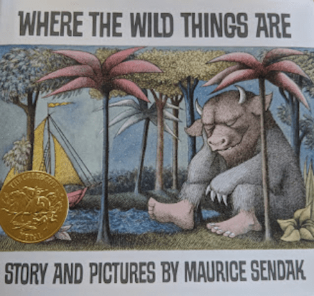 My new copy, complete with the gold Caldecott Medal.