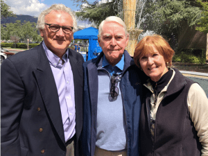 Tim Madigan, Fred and Sheryl Claire at the City of Hope
