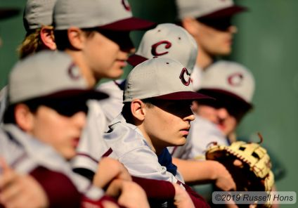 May 3, 2019 Grand Forks Central vs West Fargo Sheyenne. Central won 9-2. Photo by Russell Hons All photos can be seen here: https://russellhonsphotography.shootproof.com/2018_2019_GGFSports