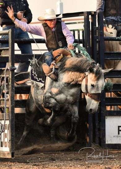 July 7, 2019: Wojo's Rodeo Greenbush, MN. Photo by Russell Hons All rodeo photos are available in a gallery here: https://russellhonsphotography.shootproof.com/WOJO_2019