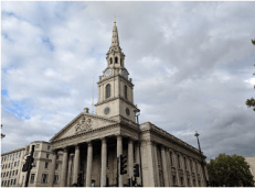 St. Martin-in-the-Fields Church, Trafalgar Square,