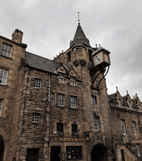 The Royal Mile, Edinburgh, Scotland.