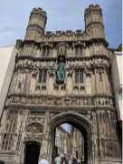 Christ Church Gateway, Canterbury Cathedral (the other CoE Archbishop here).
