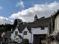 Castle Combe, the prettiest of the Cotswolds village we saw.