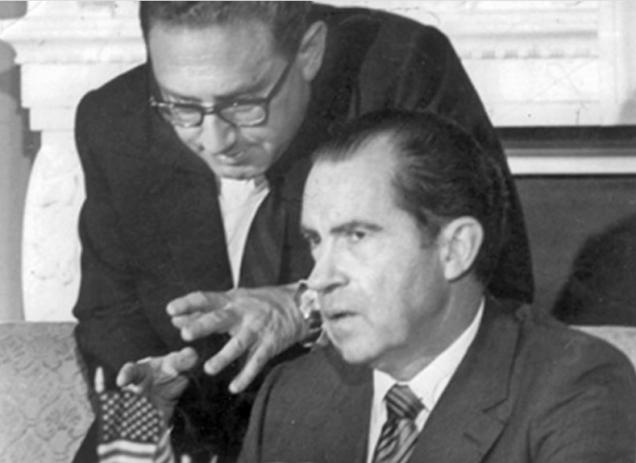 HenryKissingerwas a national security adviser to U.S. President Richard Nixon.