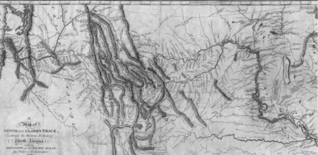 Map of the Lewis and Clark Expedition (Credit: National Park Service)