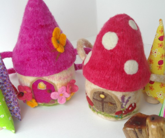 Felted Gnome Home Pattern