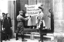 Boykott jüdischer Geschäfte 1933