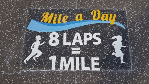 Daily Mile and Key PMBESPOKE1 - Playground Markings Yorkshire