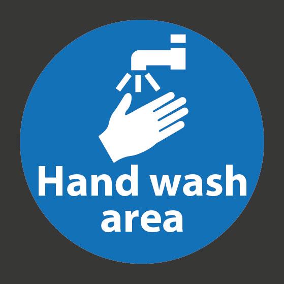 Hand-Wash Area playground marking
