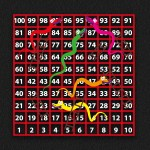1-100 Snakes & Ladders
