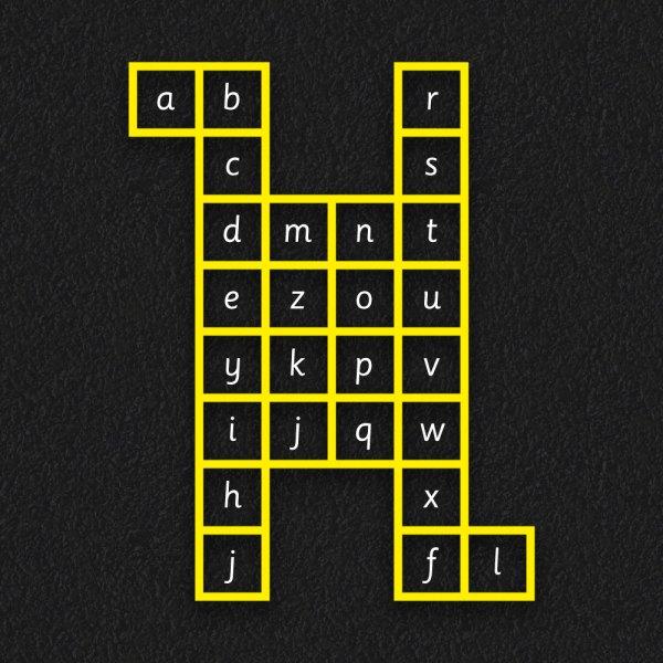 Alpha Grid NEW - Alphabet Grid