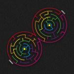 Double Circular Maze
