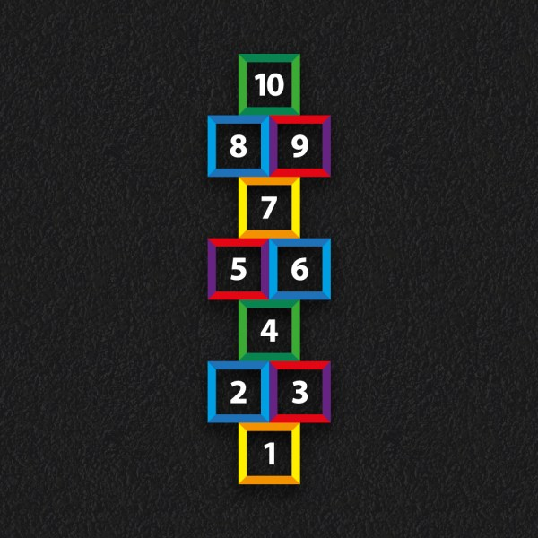 Hopsotch Outline NEW - Hopscotch Outline