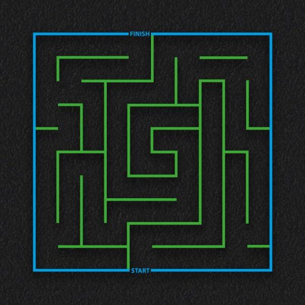 Square Maze - Square Maze
