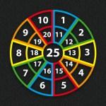 Target 1-25 Outline