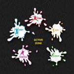 Active Zone Splats