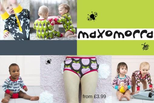 Maxomorra organic cotton underwear for children