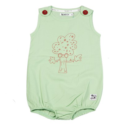 Doodle do organic cotton hugging tree romper