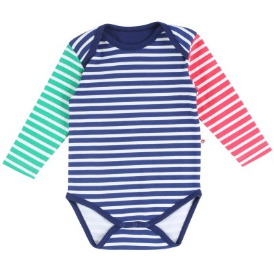 Piccalilly primary colours stripes vest