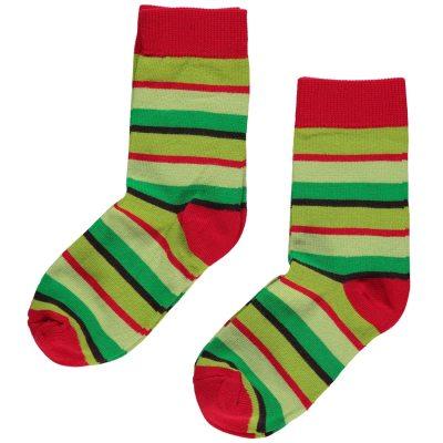 maxomorra-christmas-stripe-socks