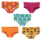 Maxomorra organic cotton hipster knickers | cats | seals | pineapples | stripes