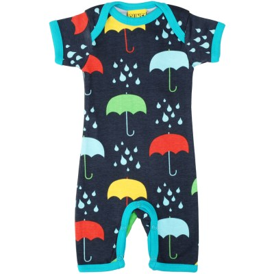 DUNS Sweden organic dark umbrellas summer romper