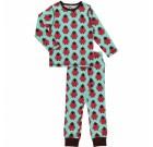 Maxomorra organic cotton pyjamas in bird design