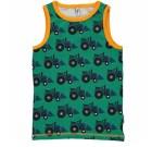 Maxomorra ~ tractor organic cotton sleeveless vest