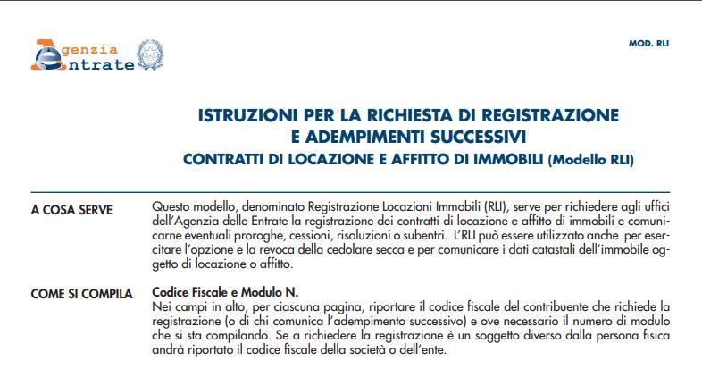 Nuovo Modello Rli Uniat Campania