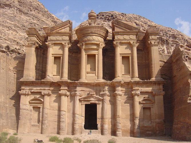 Petra-Romváros Jordániában.