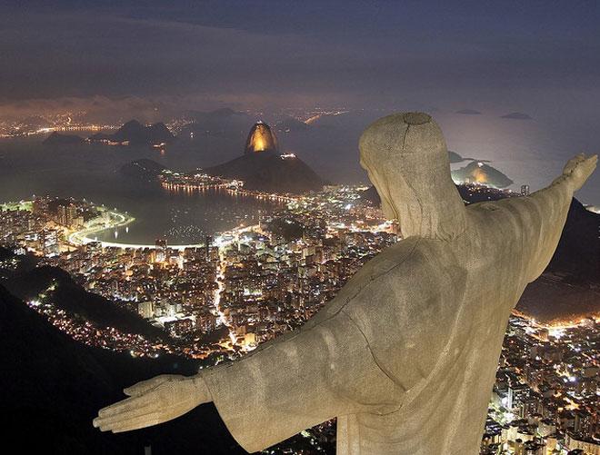 Krisztus szobor -Rio de Janeiró.