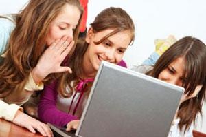 Lányok az informatika világában.