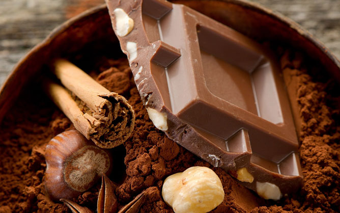 Csokoládé.