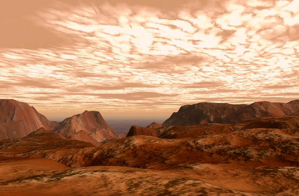 A Mars.